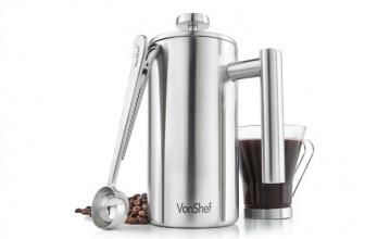 VonShef 07/266 : détails et avis sur les caractéristiques de cette cafetière à piston
